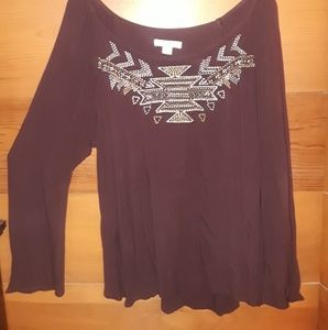 MOSSIMO Midwestern blouse